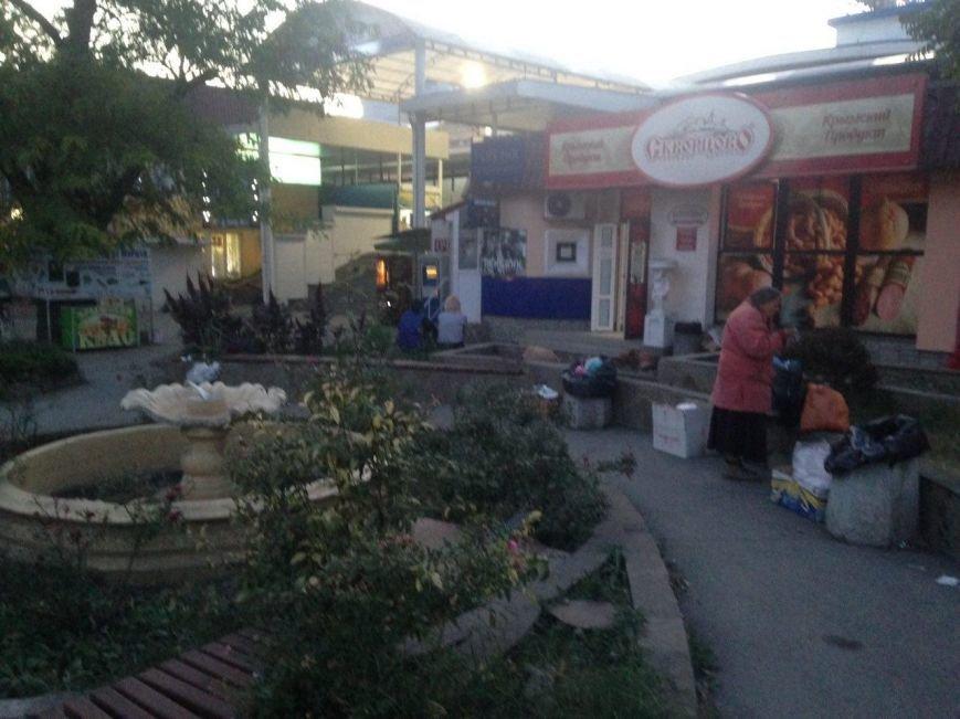 Позор Симферополя - сквер на площади Куйбышева (ФОТОФАКТ), фото-1