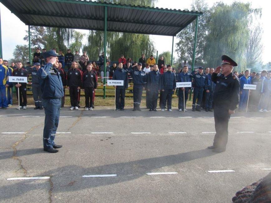 Краматорские спасатели приняли участие в  соревнованиях по пожарно-прикладному спорту, фото-2