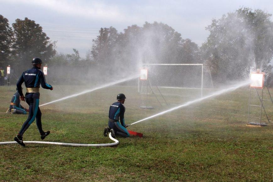 Краматорские спасатели приняли участие в  соревнованиях по пожарно-прикладному спорту, фото-3
