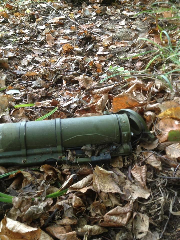 На Прикарпатті у лісовому масиві місцеві мешканці знайшли гранатомет (ФОТО), фото-2