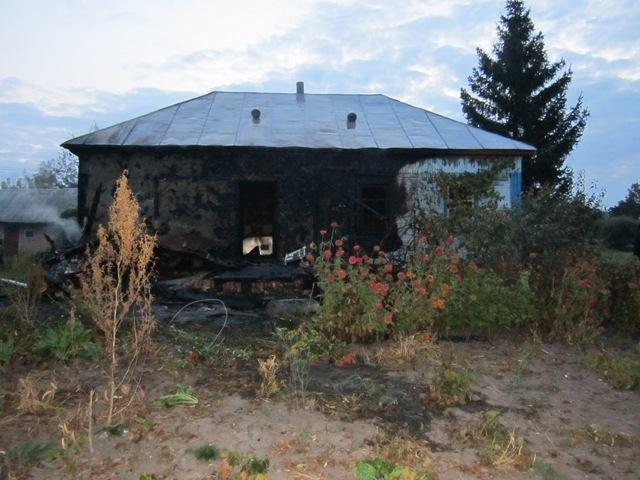 У Конотопському районі згоріло двоє людей, фото-1