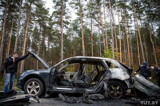 В Березино застрелили и сожгли в машине одного из богатейших бизнесменов в городе, фото-1