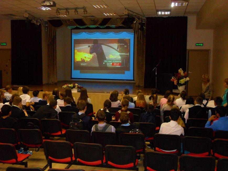 Спасатель-доброволец приехала в гости к ученикам СОШ № 6 Троицка Новой Москвы, фото-6