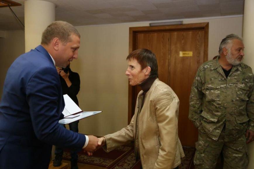 Сегодня в Кременчуге стало на двух почётных граждан города больше (ФОТО), фото-1