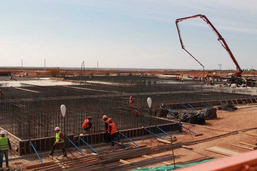 В ноябре начнут монтировать металлоконструкции нового аэровокзального комплекса аэропорта Симферополя (ФОТО), фото-2
