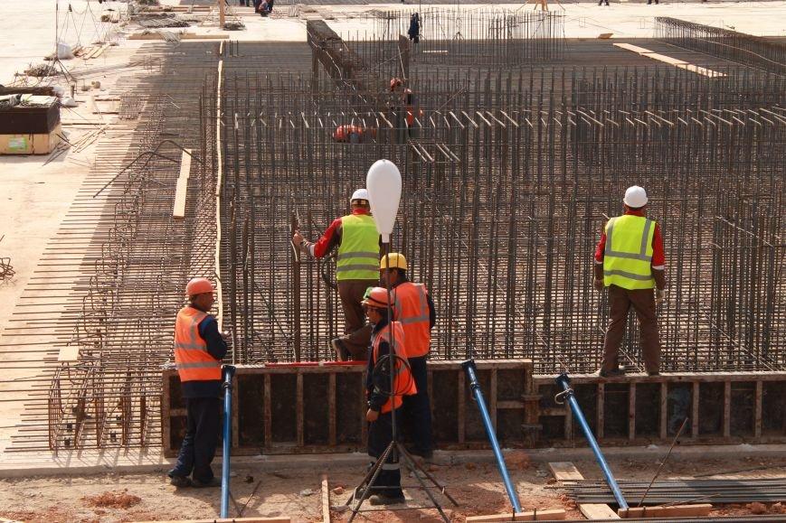 В ноябре начнут монтировать металлоконструкции нового аэровокзального комплекса аэропорта Симферополя (ФОТО), фото-1