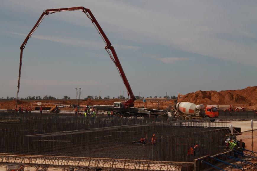 В ноябре начнут монтировать металлоконструкции нового аэровокзального комплекса аэропорта Симферополя (ФОТО), фото-3