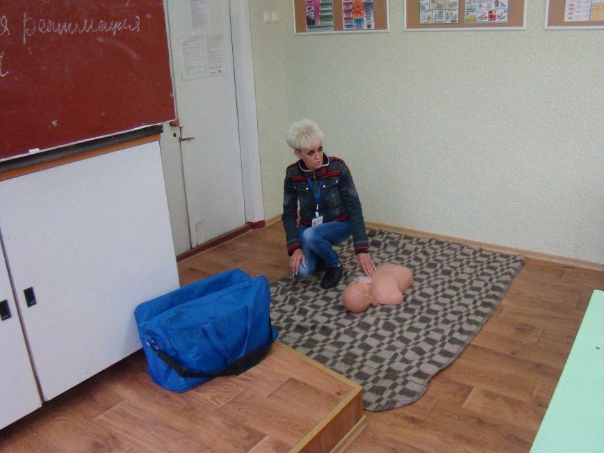 Краматорские ученики овладели навыками оказания первой помощи, фото-2