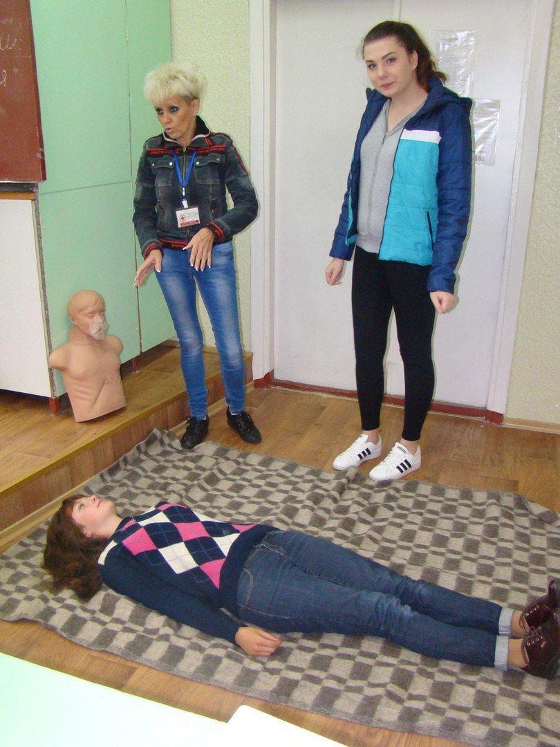 Краматорские ученики овладели навыками оказания первой помощи, фото-3