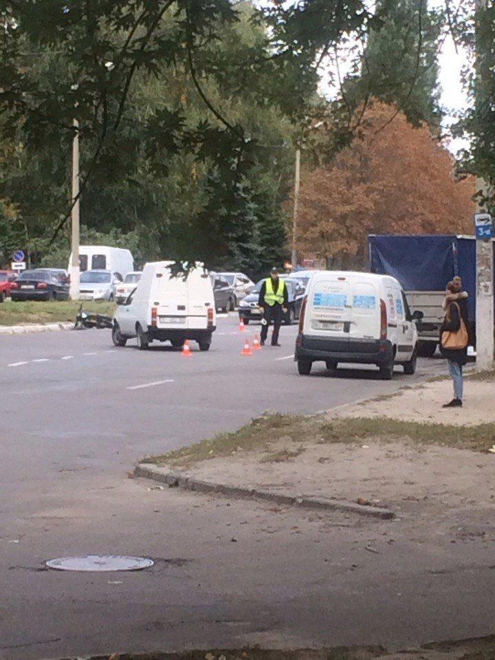 В Кременчуге Таврия столкнулась с мопедом. Есть пострадавший (ФОТО), фото-1