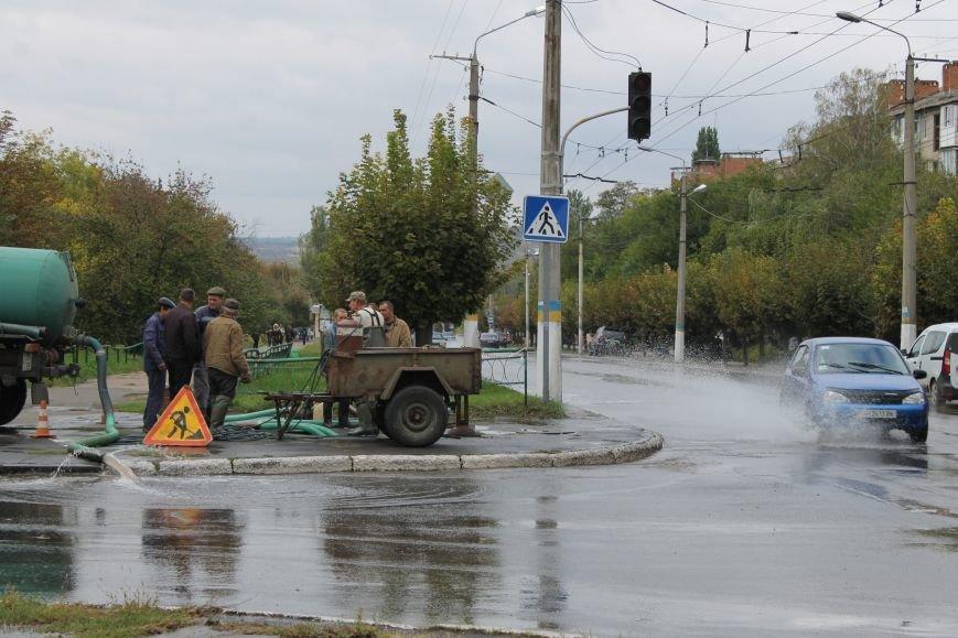 В центре Краматорска прорвало канализацию, фото-1