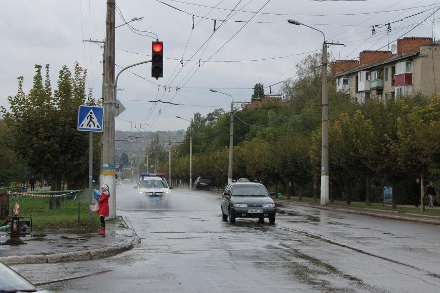 В центре Краматорска прорвало канализацию, фото-2