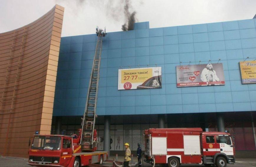 В кинотеатре торгового центра Мариуполя тушили условный пожар (ФОТО, ВИДЕО), фото-3