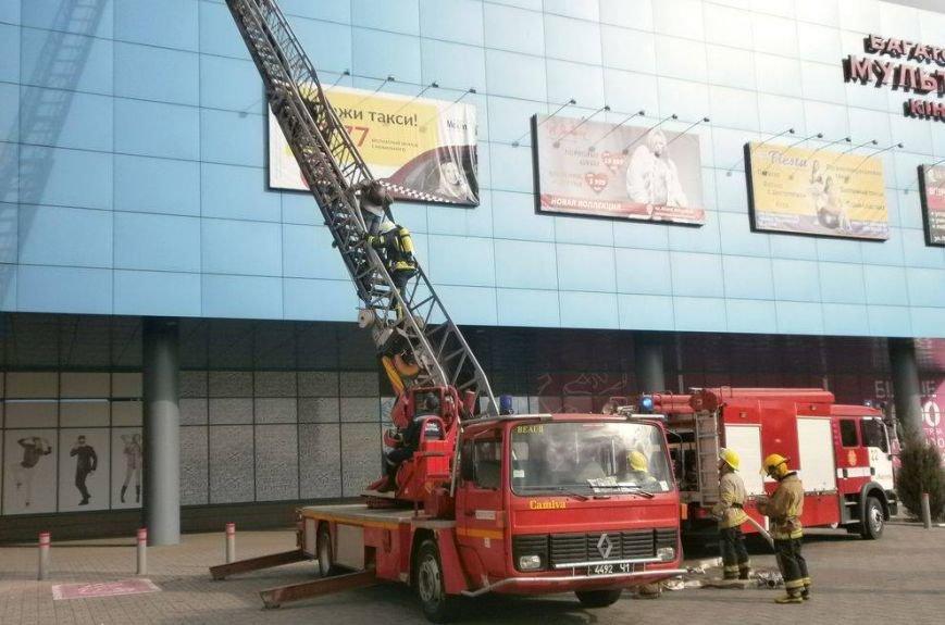 В кинотеатре торгового центра Мариуполя тушили условный пожар (ФОТО, ВИДЕО), фото-5