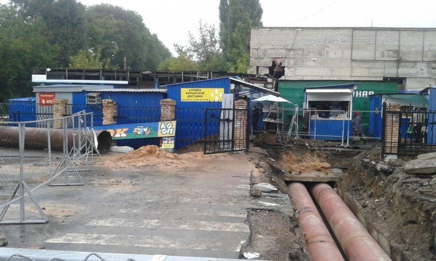 Типичная Авдеевка:  накануне старта отопительного сезона  в городе начали ремонт теплотрассы (ФОТОФАКТ), фото-4