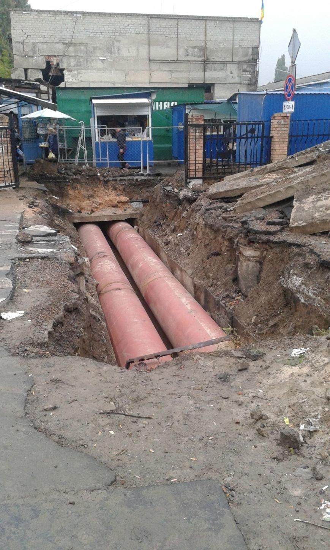 Типичная Авдеевка:  накануне старта отопительного сезона  в городе начали ремонт теплотрассы (ФОТОФАКТ), фото-3