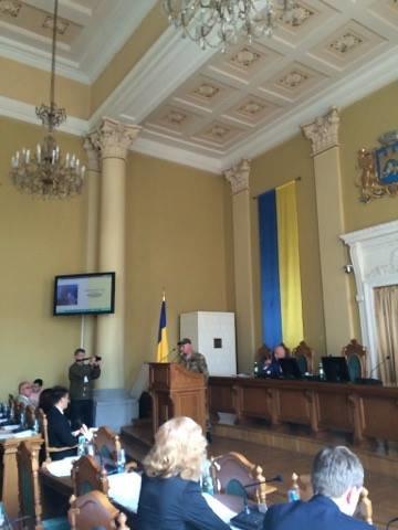 На сесію міської ради прийшли учасники АТО (ФОТО), фото-2