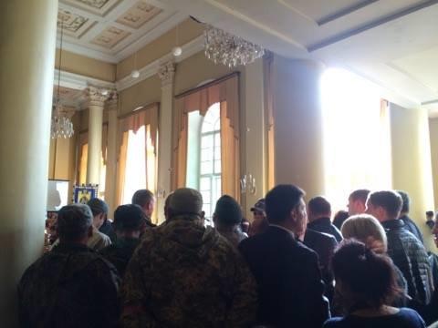 На сесію міської ради прийшли учасники АТО (ФОТО), фото-4