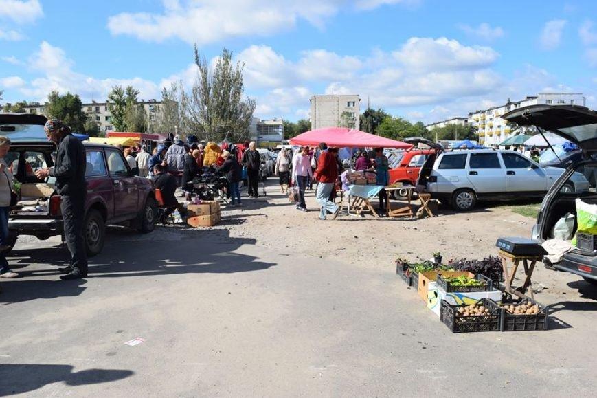Пригеба решил поддержать стихийную торговлю с земли (фото), фото-1