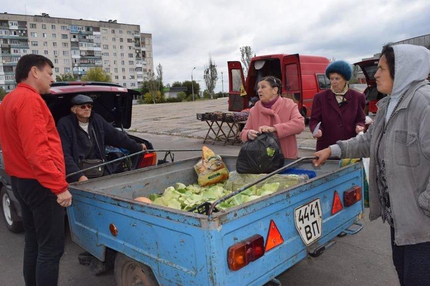 Пригеба решил поддержать стихийную торговлю с земли (фото), фото-3