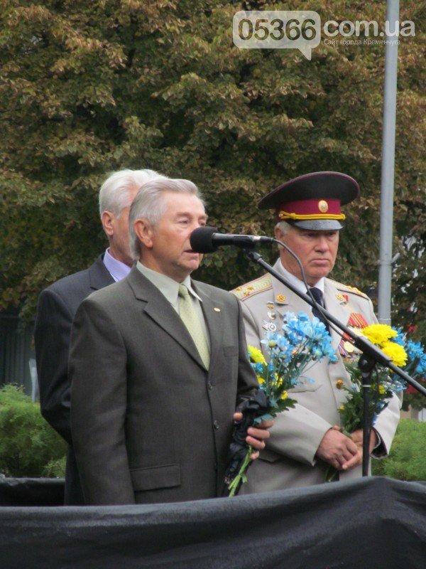 На митинге, посвящённом 73-летию освобождения Кременчуга, сын освободителя рассказал о том, как это было (фото и видео), фото-5