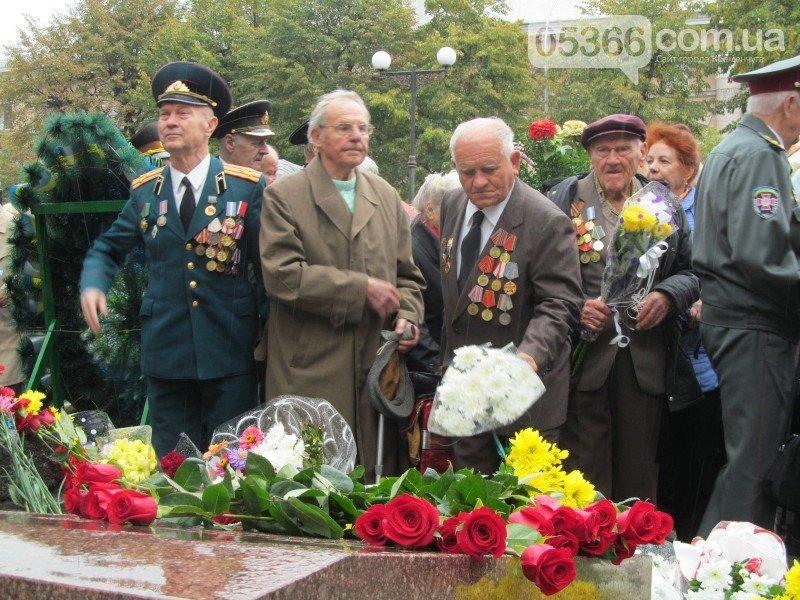 На митинге, посвящённом 73-летию освобождения Кременчуга, сын освободителя рассказал о том, как это было (фото и видео), фото-6