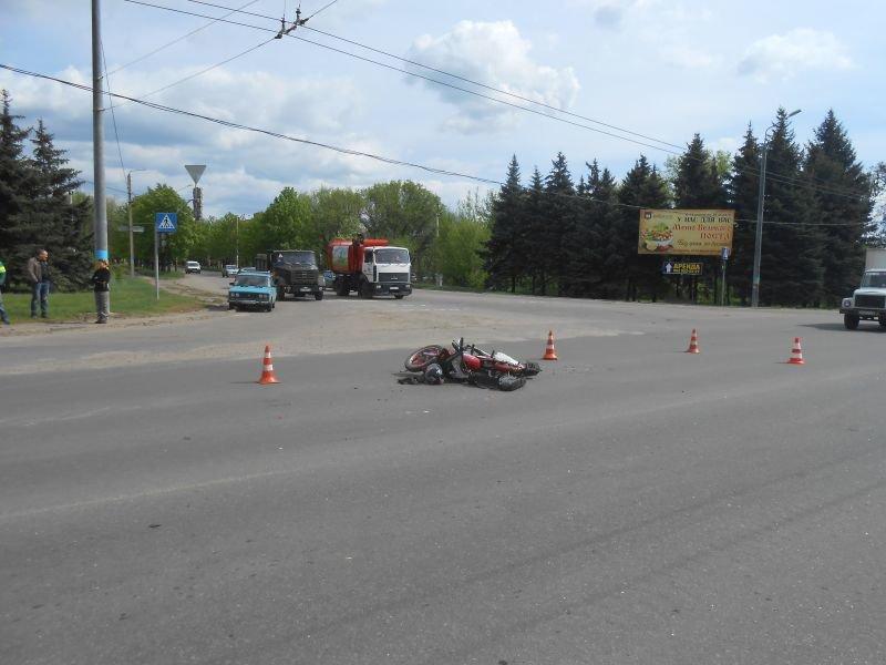 Краматорские полицейские нашли водителя грузовика, который сбил мотоциклиста и скрылся (ФОТО), фото-5