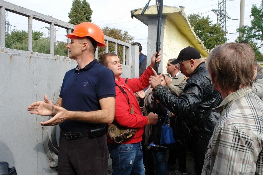 На Бурштинській ТЕС протестують проти низьких зарплат. Фото. Відео, фото-8