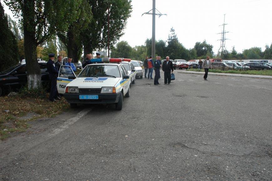 На Бурштинській ТЕС протестують проти низьких зарплат. Фото. Відео, фото-3