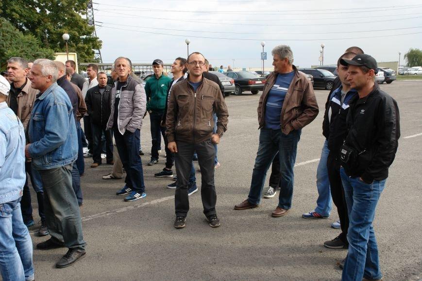 На Бурштинській ТЕС протестують проти низьких зарплат. Фото. Відео, фото-4