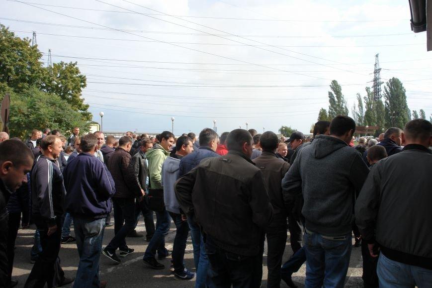 На Бурштинській ТЕС протестують проти низьких зарплат. Фото. Відео, фото-10