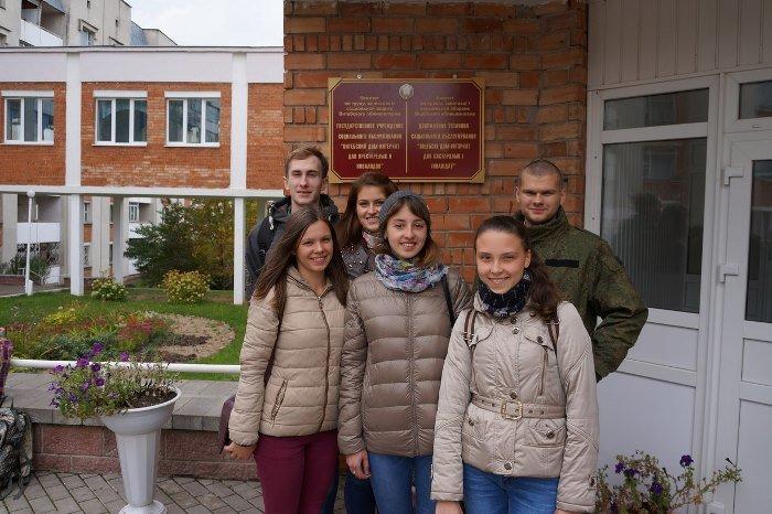 Фруктовый праздник устроили студенты ВГУ для жителей «Витебского дома-интерната для престарелых и инвалидов», фото-2
