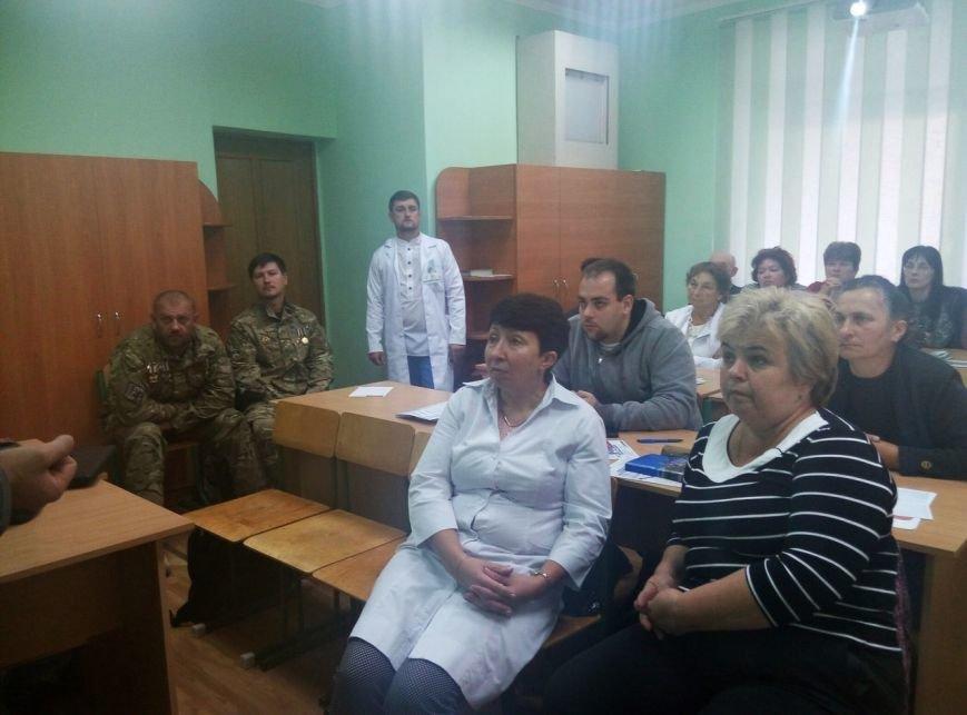 У Франківську для лікарів бійці АТО провели лекцію з ТакМед (ФОТО), фото-8