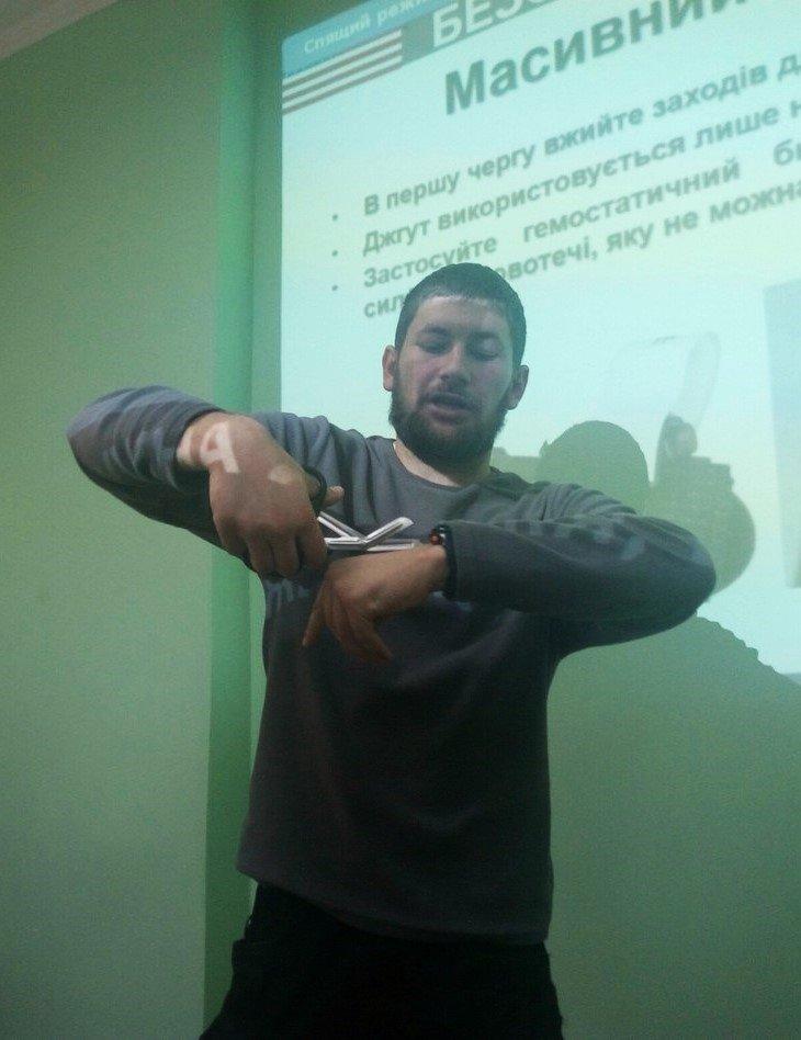 У Франківську для лікарів бійці АТО провели лекцію з ТакМед (ФОТО), фото-5
