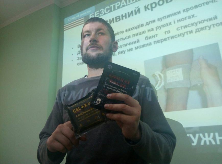 У Франківську для лікарів бійці АТО провели лекцію з ТакМед (ФОТО), фото-4