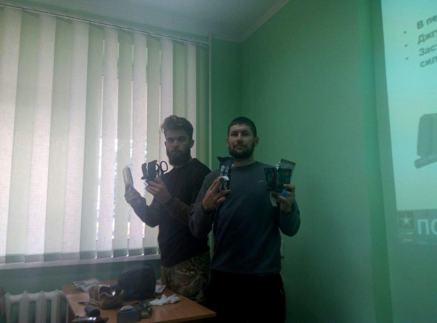 У Франківську для лікарів бійці АТО провели лекцію з ТакМед (ФОТО), фото-6