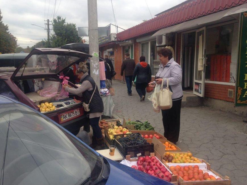 """Стихийный рынок """"под прикрытием"""" (ФОТОФАКТ), фото-4"""