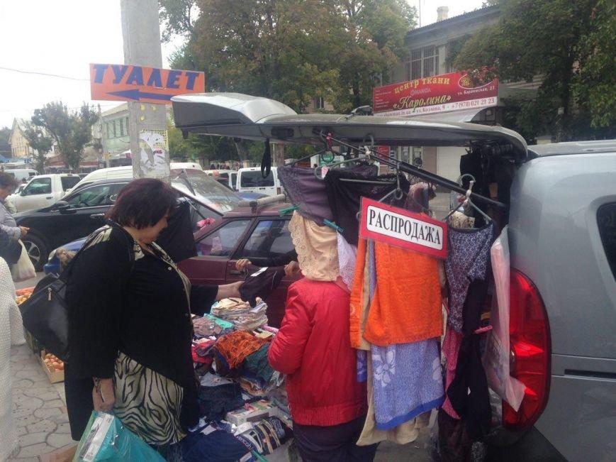 """Стихийный рынок """"под прикрытием"""" (ФОТОФАКТ), фото-3"""