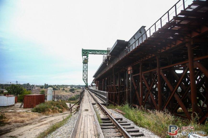 Как в Запорожье строят мосты (ФОТО), фото-1