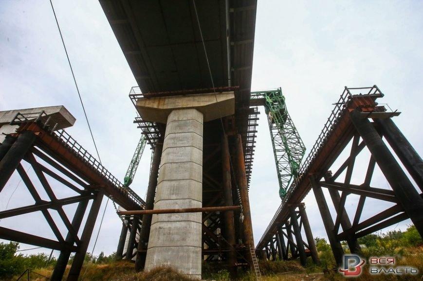 Как в Запорожье строят мосты (ФОТО), фото-6