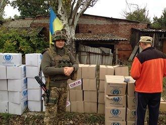 Группа военно-гражданского сотрудничества спешит на помощь жителям Авдеевки и Опытного (ФОТО), фото-1