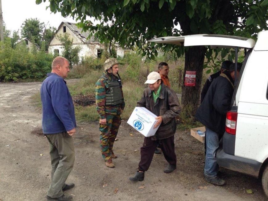 Группа военно-гражданского сотрудничества спешит на помощь жителям Авдеевки и Опытного (ФОТО), фото-3