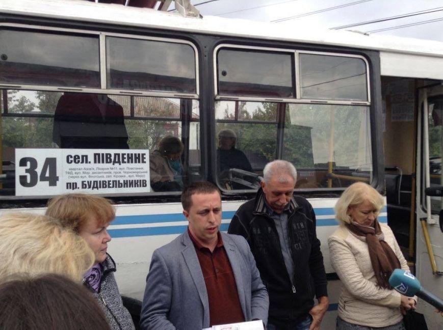 Жители Черемушек, Кировки, Бригантины и Южного получили долгожданный автобус (ФОТО, ВИДЕО), фото-3