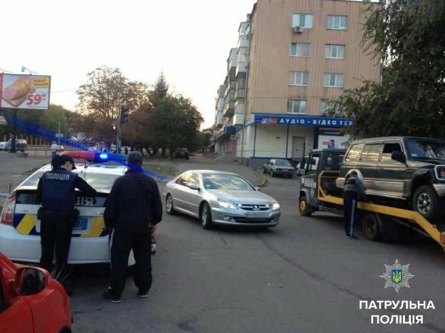 В Кропивницком внедорожник устроил двойное ДТП и скрылся с места происшествия (ФОТО), фото-1