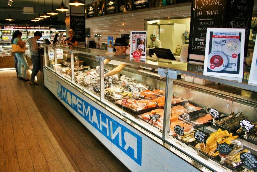 Рыбный ресторан-магазин «Моремания»: сплетение двух стихий, фото-1