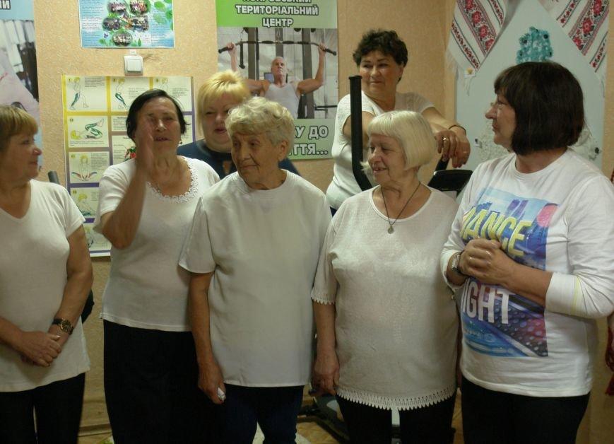 В Покровске (Красноармейске) пенсионерам подарили тренажерный зал, фото-7