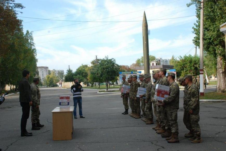 Кременчугским ракетчикам передали вкусняшки со «Сладкого Кременчуга» (ФОТО), фото-5