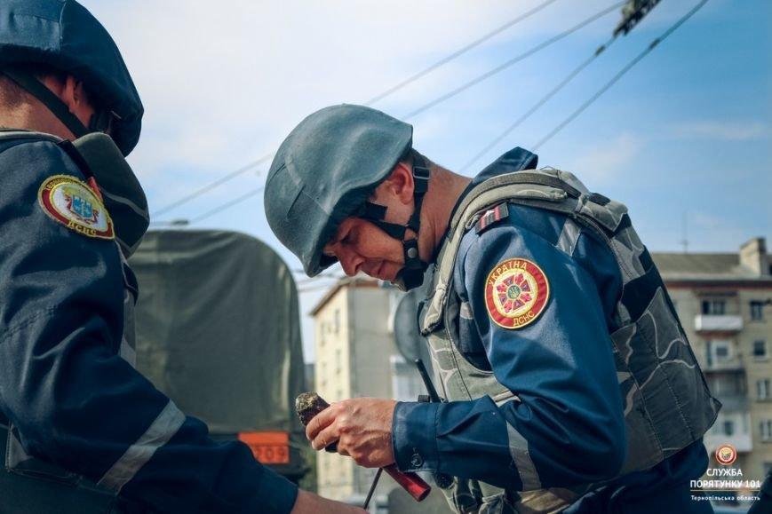 Радіус розльоту осколків снаряду, який знайшли на дамбі Тернопільського ставу, становить 1200 метрів, фото-2