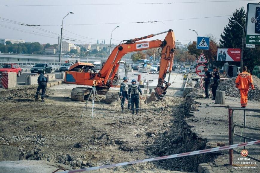 Радіус розльоту осколків снаряду, який знайшли на дамбі Тернопільського ставу, становить 1200 метрів, фото-1