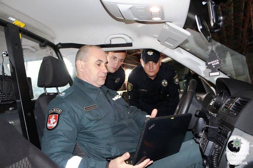 Херсонские патрульные побывали в Литве (фото), фото-3